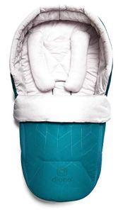 Diono Cocoon pour nouveau-né respirant Bleu turquoise