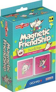 Geomag MagiCube 105 – Magnetic Friendship Home, Constructions Magnétiques et Jeux Educatifs, 2 Cubes Magnétiques