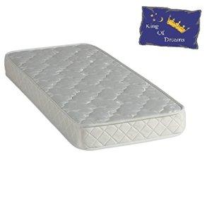 Nuits D'or Baby Dream 70×140 Matelas Mousse Poli Lattex – Tissu 70% Coton – Hauteur 15 Cm – Anti-acariens Antibactériens Hypoallergénique 70 x 140 cm (70_x_140_cm)