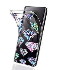 Oihxse Mode Motif de Diamant Case Compatible pour Nokia 8.1 Coque Silicone Ultra Mince Transparent Souple Bumper Crystal Clair Anti-Rayures Antichoc Protection Cover,Diamant 6
