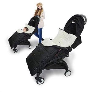 Couverture bébé pour la période de transition, protection pour siège bébé et pour siège auto enfant, pour landaus, poussettes, porte-bébés (Color : Noir)