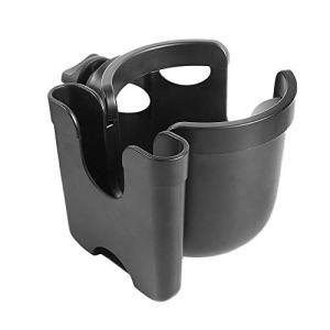 LZSH Porte-gobelet universel 2 en 1 pour poussette, bouteille d'eau, café et téléphone portable pour poussette
