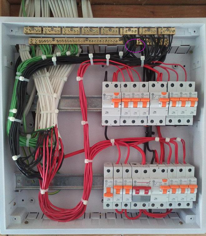 Switchboard Wiring Diagram