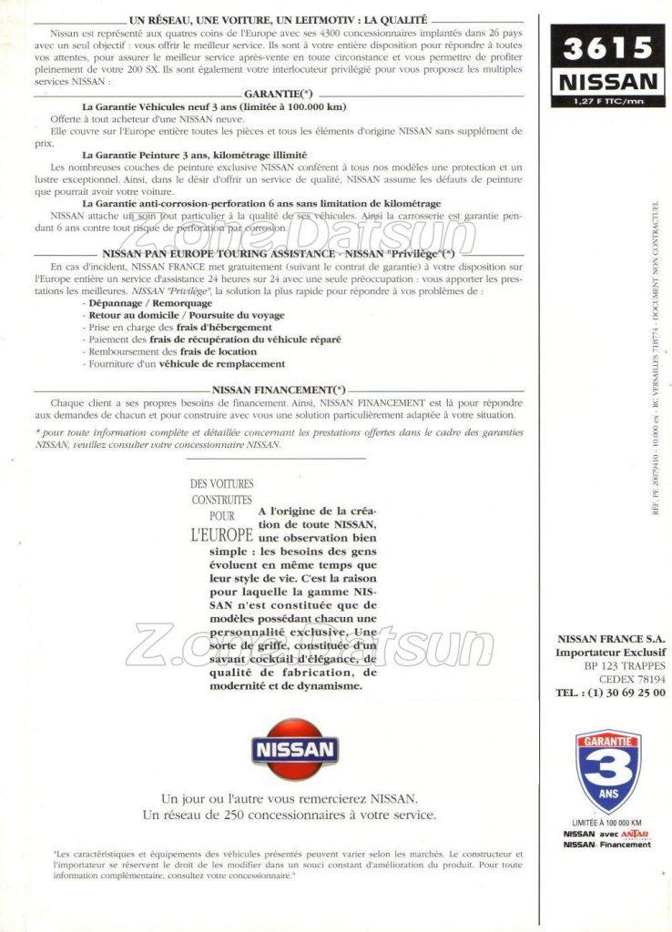 TYPE S14 / S15 NISSAN (200SX – 240SX) – Z.ONE