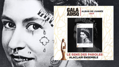 Photo of Alaclair Ensemble remporte « ALBUM DE L'ANNÉE RAP » au 41e Gala de l'Adisq