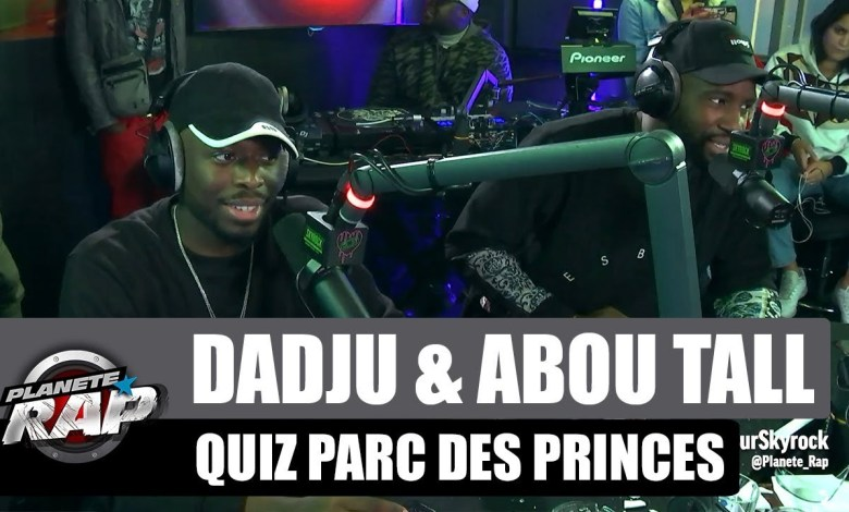Photo of Dadju & Abou Tall s'affrontent au quiz du parc des princes #PlanèteRap