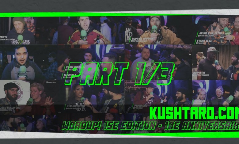Photo of Wordup! Battles 10e Anniversaires X Kushtard.com X Pt 1 sur 3