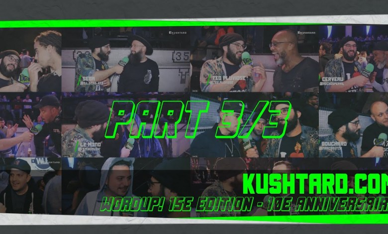Photo of Wordup! Battles 10e anniversaires X Kushtard.com X Pt 3 sur 3
