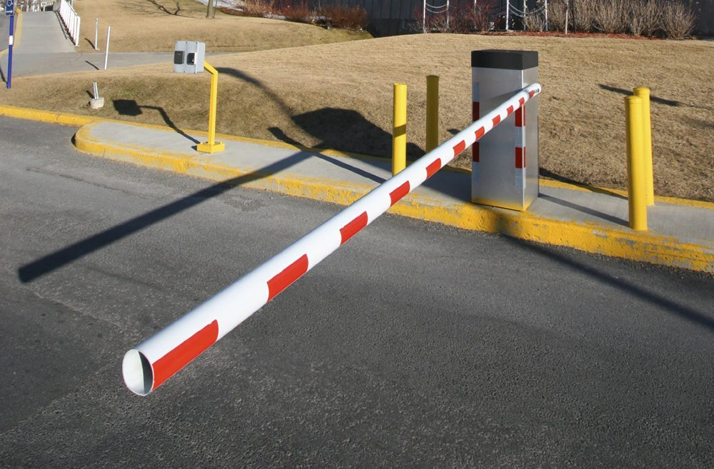 ZoneSafe Vehicle Access Control Barrier Lowered