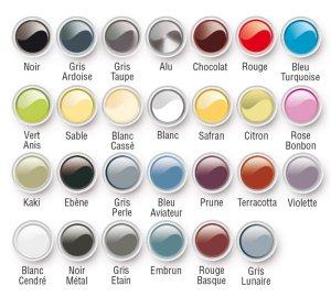 Nuancier Résinence Color