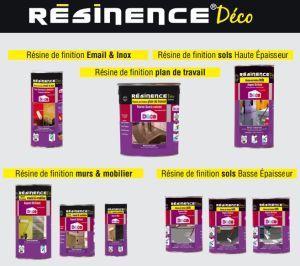 Les produits Résinence Déco