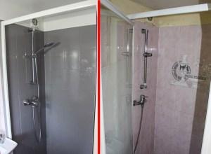 Résinence Color : Salle de bain Avant / Après