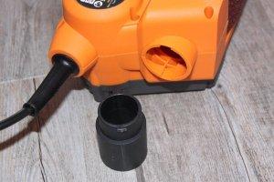 Adaptateur d'aspirateur Ponceuse à bande compacte TRITON TCM BS