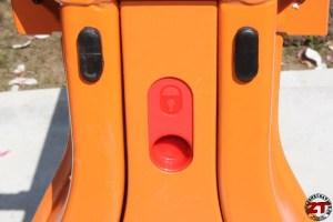 Position de verrouillage / déverrouillage de serrage