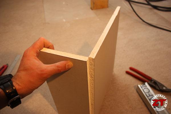 Cloison placo decoupe plaque 3 zonetravaux bricolage d coration outillage jardinage - Plaque de placo dimension ...