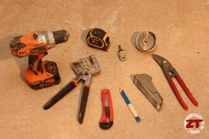 Cloison-placo-outils