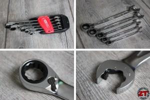 Clé cliquet Duo Gear KS Tools