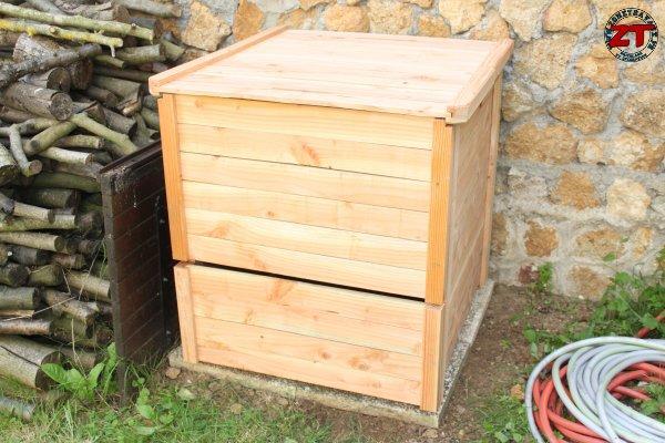 Jardinage installer un composteur - Composteur de jardin ...