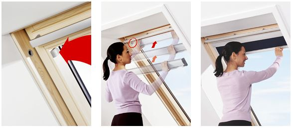 Brico installer un store occultant velux for Montage d un velux