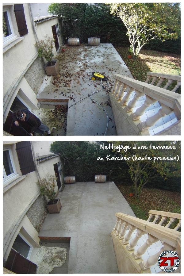 Timelapse Nettoyage D 39 Une Terrasse Au K Rcher
