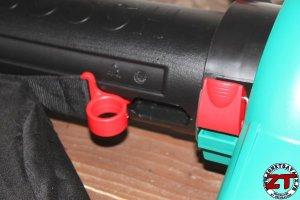 Test aspirateur souffleur bosch ALS25