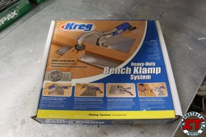 Kreg Heavy-Duty Bench Klamp System