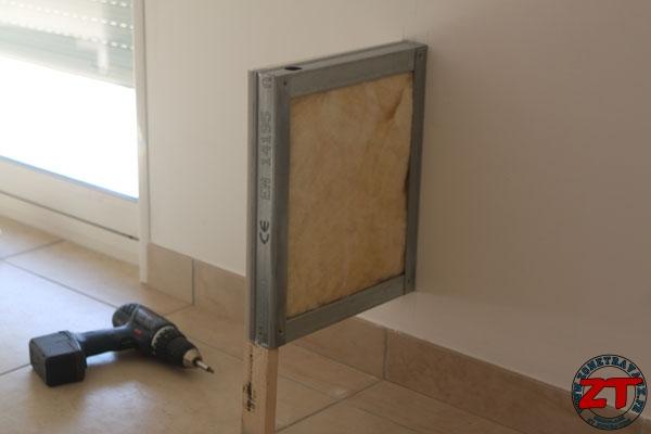 Tuto  Création dun meuble TV en placo -> Niche Tv Placo