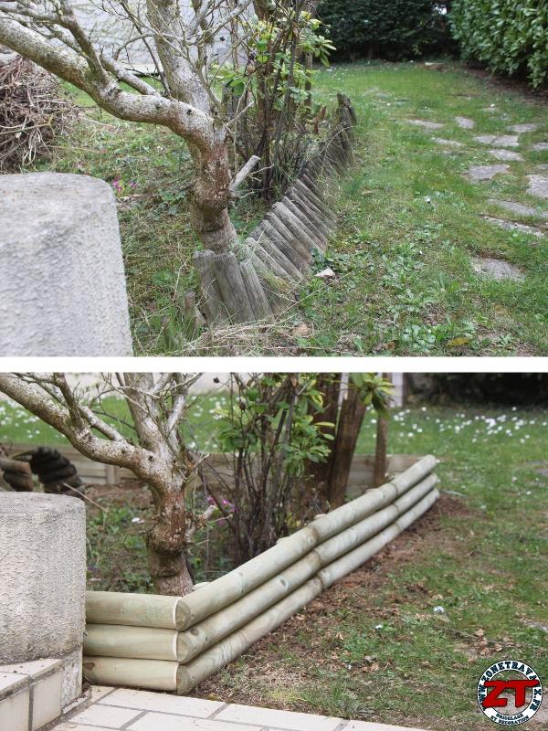 tuto installer des bordures de jardin