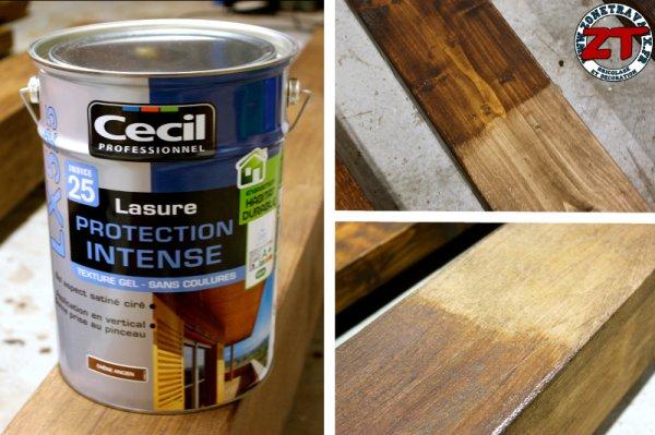 lasure brico depot free lambris revtu en pin blanc pour plafond l l mm ep mm brico dpt with. Black Bedroom Furniture Sets. Home Design Ideas