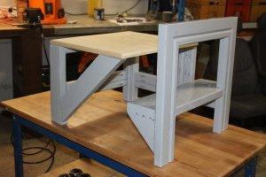 Fabriquer table ecolier enfant (40)