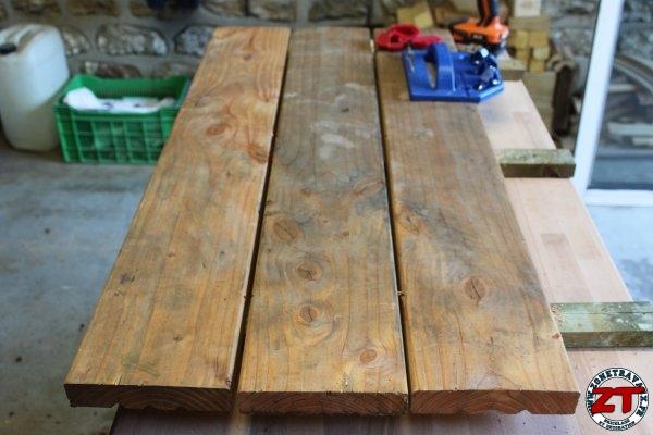 Cration  Fabriquer une table dcolier 12