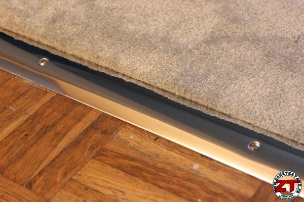 tuto installer une barre de seuil de porte. Black Bedroom Furniture Sets. Home Design Ideas