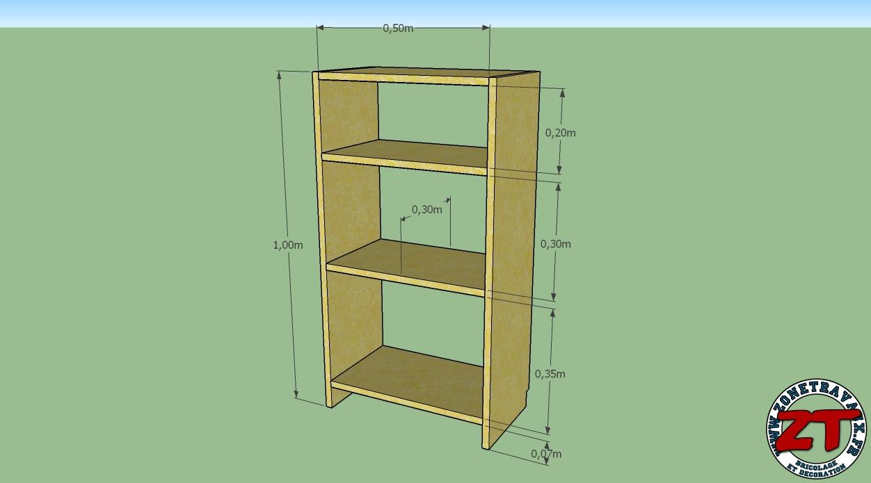 flambant neuf construire une biblioth que murale en bois ib27 humatraffin. Black Bedroom Furniture Sets. Home Design Ideas