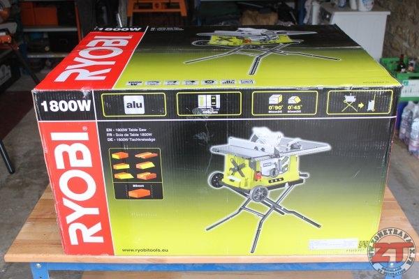 test ryobi scie sur table 1800w pliable rts1800ef g. Black Bedroom Furniture Sets. Home Design Ideas