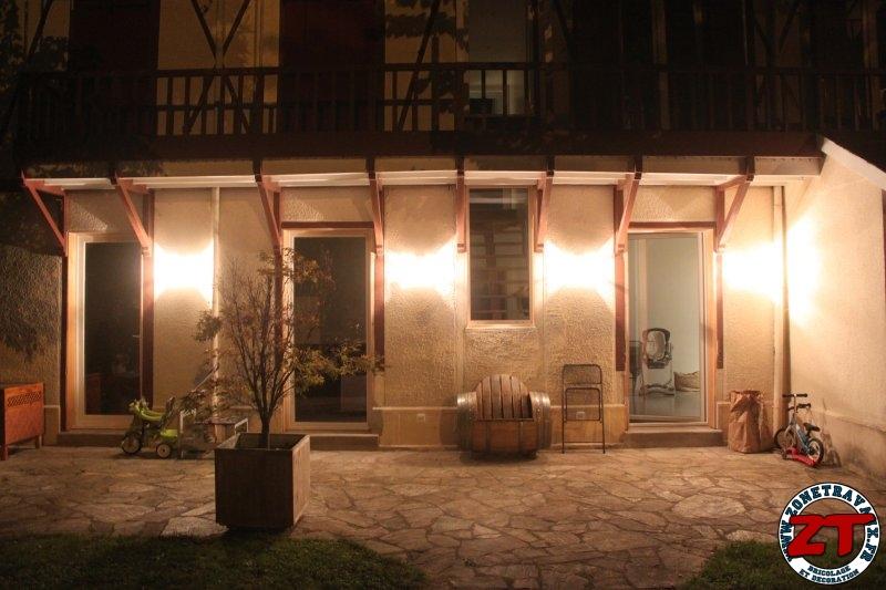 Tuto poser une applique murale ext rieure for Lumiere terrasse exterieure