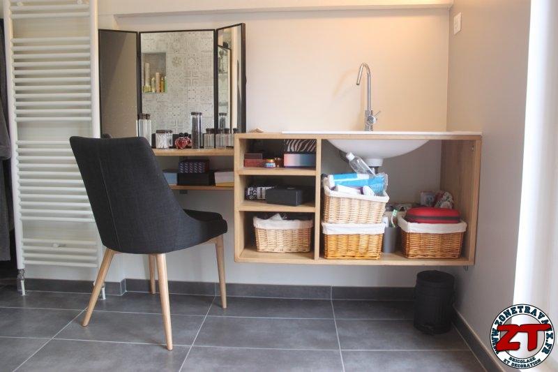 Tuto fabriquer un meuble vasque de salle de bain for Creer un meuble de salle de bain