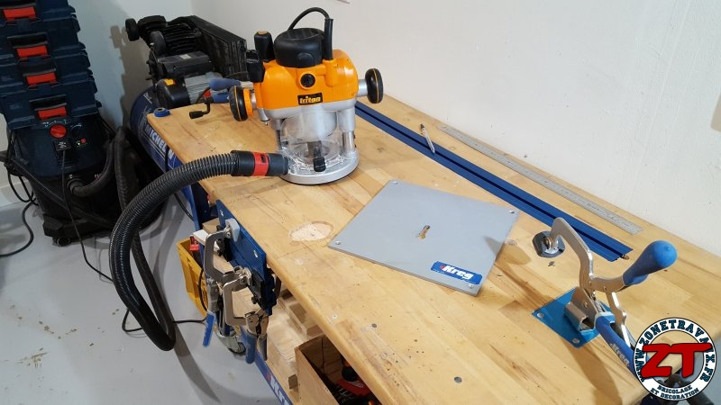 test outils kreg station de serrage klamp plate pince automaxx. Black Bedroom Furniture Sets. Home Design Ideas