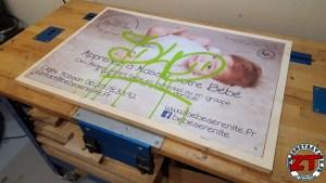 Fabriquer cadre pancarte photo