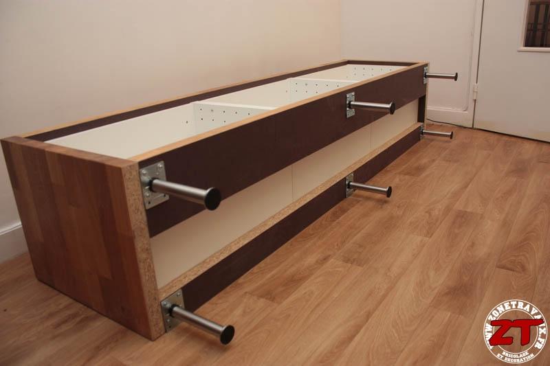 Favori IKEA HACK : un meuble TV avec des meubles de cuisine BL12