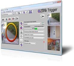 Webcam Zone Trigger motion detection software