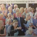Koning Willem-Alexander bezoekt De Gaveborg