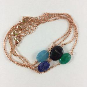 armbanden met edelstenen onyx lapis lazuli aventurijn jade