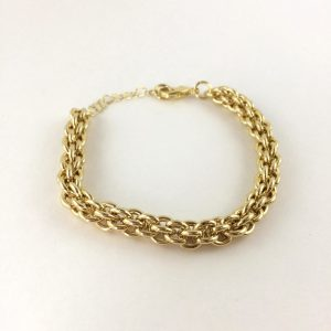 statement armband goud