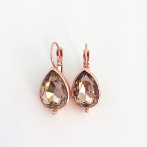 oorhangers-met-swarovski-bruine-kristal-rosegoudkleurig