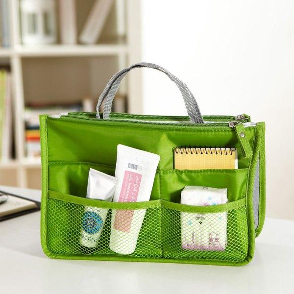 Tas organizer (bag-in-bag) groen