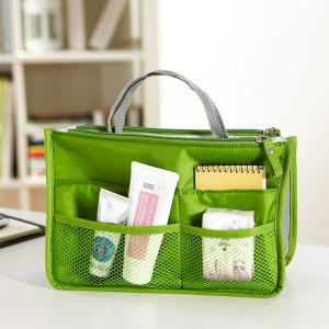 Tas organizer (bag-in-bag) groen