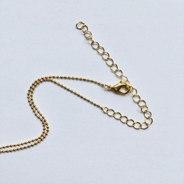sluiting lange ketting ball chain