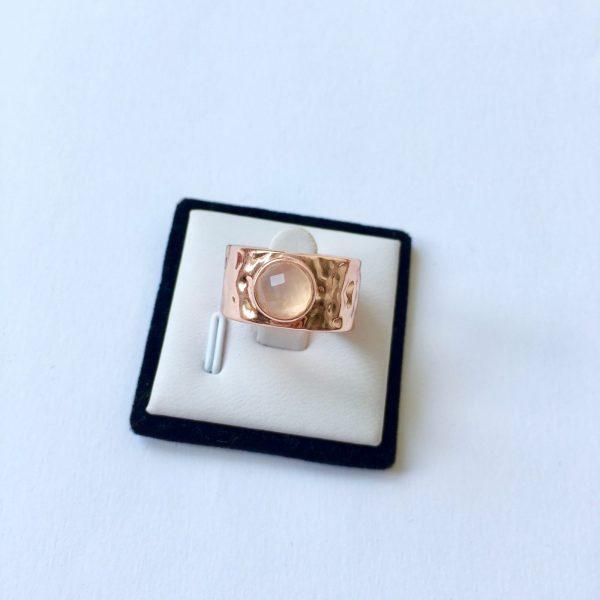 statement ring rose goud