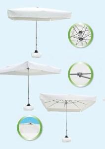 зонты от солнца для дачи