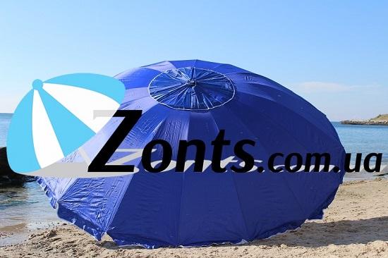 Зонт Садовый большой торговый пляжный ждя кафе для дачи 3.5 м 16 спиц